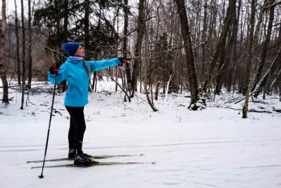 learn to ski in tallinn