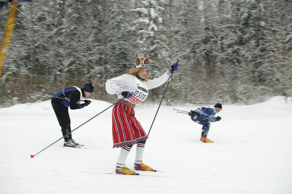 Try out Estonian national sports - cross-country skiing
