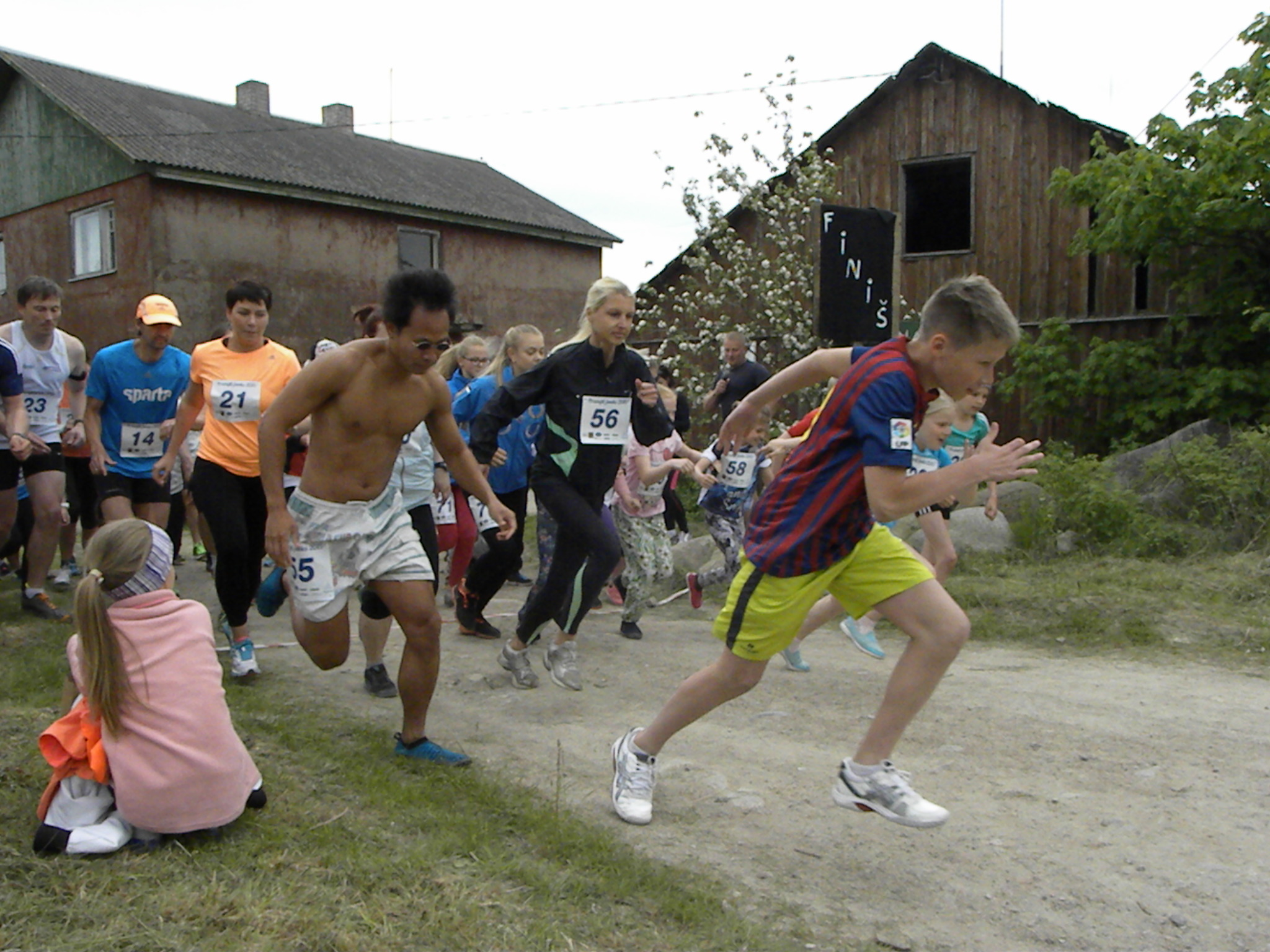 Prangli Island Day Trip from Tallinn. Prangli Run is an annual event happening for the 4th time