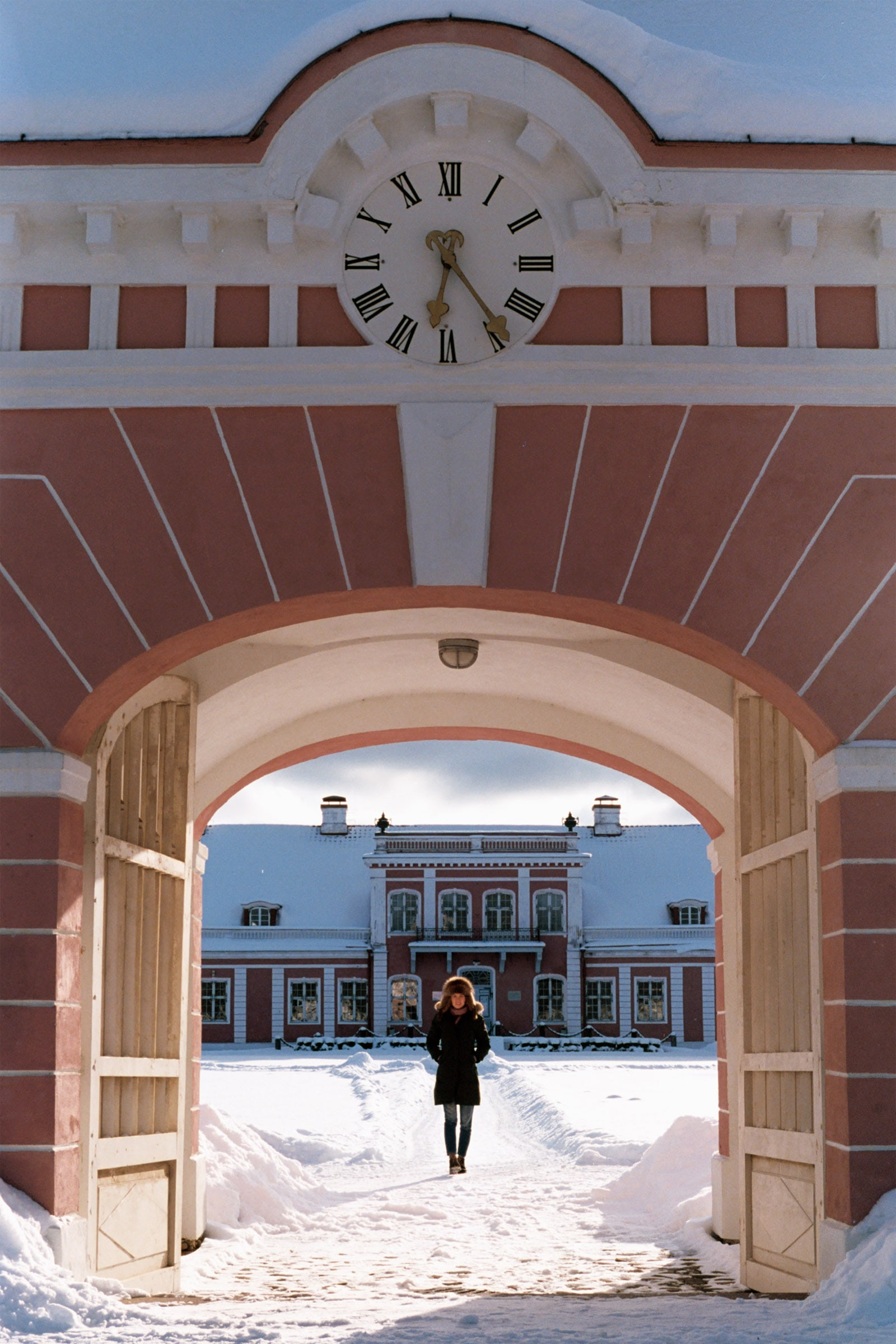 Iurii Matseevskii. Sagadi manor is winter