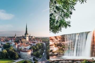 Tallinn Old Town and Jägala waterfall tour