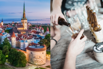 Tallinn Old Town and craft beer tour