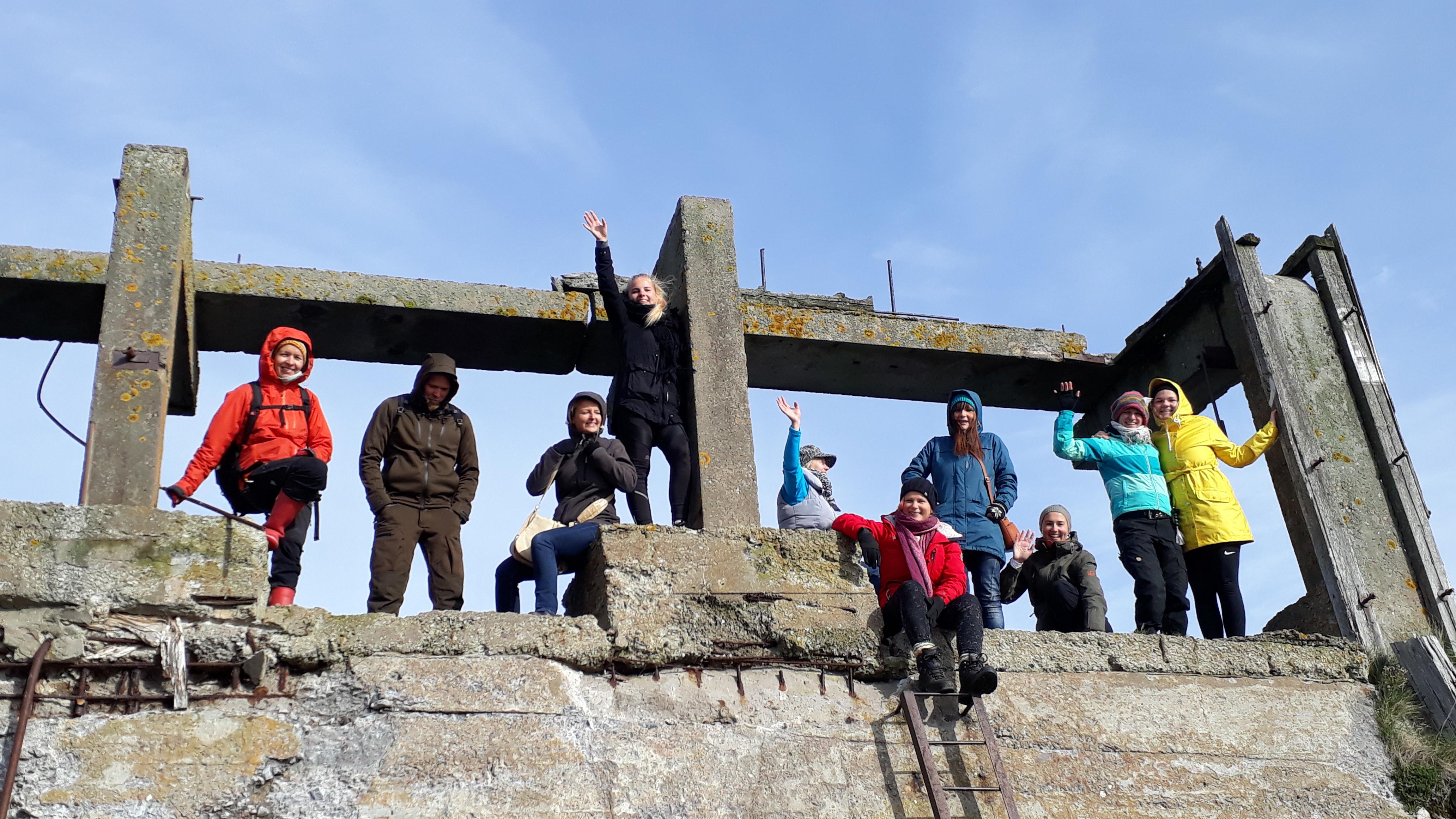 Prangli Travel team