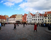 ©J. Leppmets. Raekoja plats - the main square in Tallinn Old Town
