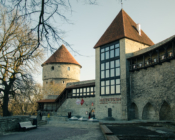©M. Laidvee. Beautiful architecture in Tallinn Old Town